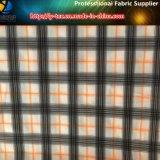 Tela teñida de Shirting de los hilados de polyester con el Spandex para la ropa del golf (YD1077)