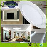 El equivalente incandescente redondo de la luz del panel del LED 40W, 5000k refresca el blanco, las luces de techo ahuecadas LED para el hogar, oficina, iluminación comercial