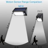 32LED LED PIR 운동 측정기를 가진 태양 벽 램프 가로등