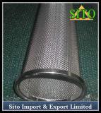 Filtre perforé de cylindre de maille d'acier inoxydable