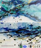 El tilo montado sale de la decoración que pinta la pintura al óleo decorativa abstracta