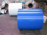 Bobina de aço Prepainted do soldado ou PPGI ou tamanho padrão galvanizado revestido cor da folha do metal da chapa de aço na bobina