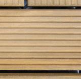 Telha ao ar livre de madeira do Decking do teste padrão de DIY para o balcão