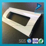 77mm 55mm Ancho del rodillo de la ventana de puerta de persiana con perfil de aluminio de perforación del agujero