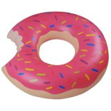 120cmの直径膨脹可能なドーナツ水泳のリング