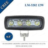 10-30V luz de trabajo del CREE LED del camino que conduce la lámpara del trabajo de la pulgada 12W de la luz 6 del punto