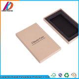 Custom impresso em papel kraft pequena caixa de embalagem para o caso de Telefone