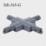 X-Connecteur simple de lumière de piste de pouvoir de circuits (XR-365)