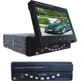 DIN unique dans le tableau de bord voiture Récepteur TV analogique