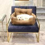 Роскошная кровать валика перемещения автомобиля софы кроватей собаки продуктов любимчика кровати циновки места автомобиля кровати любимчика автомобиля