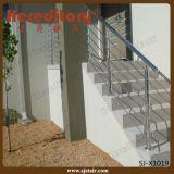 Balaustrada do aço inoxidável para o sistema de trilhos ao ar livre da escada (SJ-X1019)