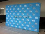 Pop up Feria de Exposiciones de la curva recta tejido Pop up display Stand/Exposición Volver
