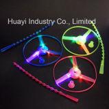 СИД освещает вверх проблескивая игрушку колеса Whirly