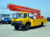 Dongfeng 145 trabajos aéreos vehículos (DLQ5100JGKZT3).