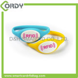 Os Wristbands do silicone de RFID para eventos Waterproof Wristbands de RFID