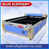 De auto CNC van de Laser van de Nadruk HoofdSnijder van de Laser, de Scherpe Machine van de Laser van het Metaal van Co2 met het Gas van de Hulp