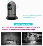IP66 Policecar 20X Opitcal 1080P IR Kamera des Summen-PTZ