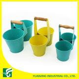 多色刷り二重庭の植木鉢庭プランター