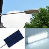 Aleación de aluminio de 48 LED Sensor radar pequeña lámpara solar calle con 4 modos de trabajo