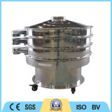 Em pó ou em grãos Screening peneira vibratória rotativa circular da Máquina