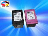 Оригинальных картриджей для струйных принтеров HP121BK, C