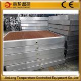 O sistema de refrigeração com efeito de estufa 7090 Jinlong/almofada de resfriamento evaporativo