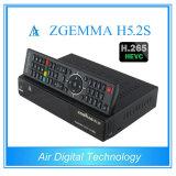 Twin Tuner DVB-S / S2 Récepteur satellite HD HD PVR Ready avec Hevc / H. 265 Zgemma H5.2s