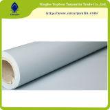 Blanco 850gsm cortinas de tela carpa lona grande