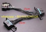 OBD2 Obdii Cable Female 16 Pin Splitter Extension Connector 16pin Full Pin-out J1962 Y Cable