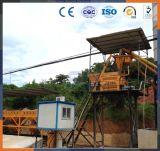 precio de mezcla/de procesamiento por lotes por lotes del concreto móvil 75m3/H de la planta