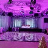 Pleine couleur xxx Danse Vidéo LED pour l'étape de mariage de carrelage de sol