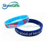 Wristband variopinto concavo del silicone di vendita calda