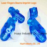 Eingebrannter Finger beleuchtet LED-Spielzeug
