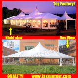 Tenda Mixed trasparente della tenda foranea dell'alto picco per la mostra dell'automobile per l'ospite di Seater delle 300 genti