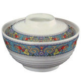 Dinnerware- van de Melamine van 100% Kom met de Kom van de Soep van de Dekking/van de Melamine (NC709S)