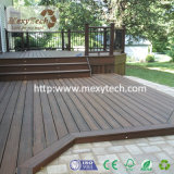Plataformas compostas ao ar livre modernas dos materiais de construção WPC para placas de flutuação