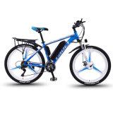 Motor eléctrico aluguer 350W Mountain Bike bicicleta eléctrica da bateria integrada