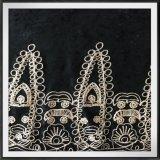 Cadeia de veludo bordados cadeia geométricos bordados Fabric