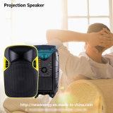Neuestes Lautsprecher-bewegliches Karaoke-drahtloser Projektions-Lautsprecher des Projektor-2017