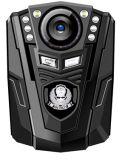 1080P IP67 64G IR WiFiの警察によって身に着けられているボディカメラは作用する