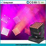 Des LED-bewegliche Kopf-RGBW 4in1 Matrix LED Wäsche-des Träger-25pcsx15W
