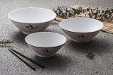 """Dinnerware- van de Melamine van 100% het Vaatwerk van /Japanese van de Kom van Ramen van de """"Natuurlijke Reeks"""" (NC566)"""