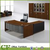 Mobilier moderne en bois Bureau exécutif avec le côté armoire table