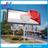 Bandera blanca de la flexión del PVC Frontlit de los materiales de la impresión para las muestras comerciales