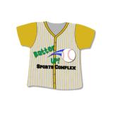 Het Stootkussen van de Muis van de Computer van het overhemd - Honkbal