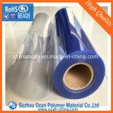 200-250 Mircon 물집 팩을%s 명확한 엄밀한 PVC 필름 롤