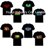 Impression personnalisée LED Flashing Shirts