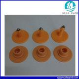 Modifica di orecchio di color salmone dell'animale di colore 30mm per identificazione animale