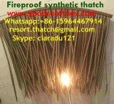 La chaume synthétique de paille africaine et voudrait rendre technique et ignifuge pour la ressource 68 de toit