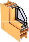 Windows와 문 (RAL-596)를 위한 6063 T6 알루미늄 또는 알루미늄 밀어남 단면도